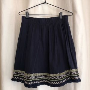 Loft high waisted skirt
